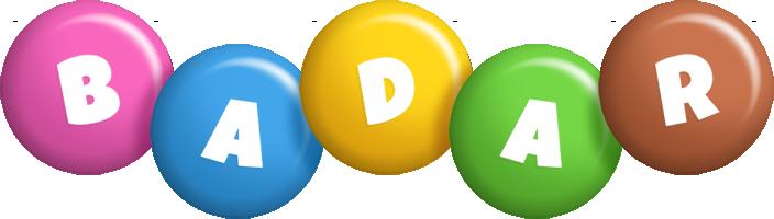 Badar candy logo