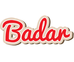 Badar chocolate logo