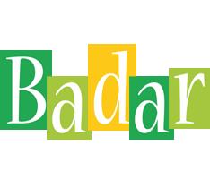 Badar lemonade logo