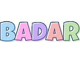 Badar pastel logo