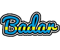 Badar sweden logo