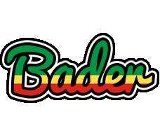 Bader african logo