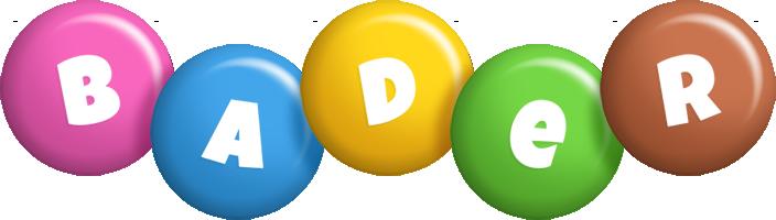 Bader candy logo