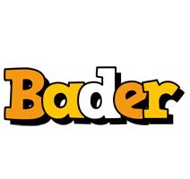 Bader cartoon logo