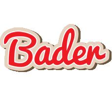 Bader chocolate logo