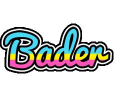 Bader circus logo