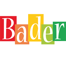 Bader colors logo
