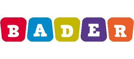 Bader daycare logo