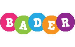 Bader friends logo