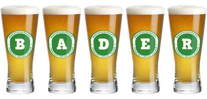 Bader lager logo
