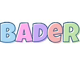 Bader pastel logo