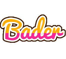 Bader smoothie logo