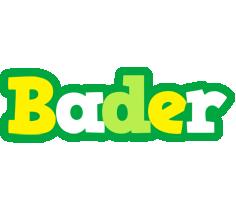 Bader soccer logo