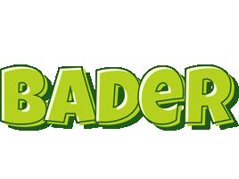 Bader summer logo