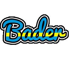 Bader sweden logo