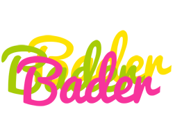 Bader sweets logo