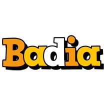 Badia cartoon logo