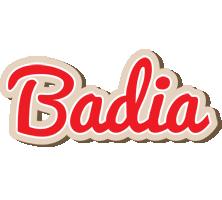 Badia chocolate logo