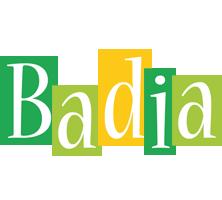 Badia lemonade logo