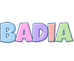 Badia pastel logo