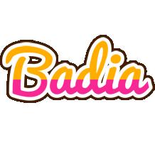 Badia smoothie logo