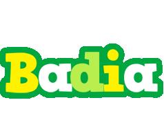 Badia soccer logo