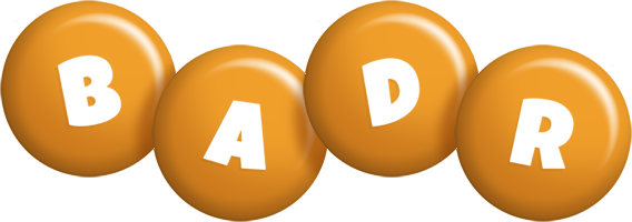 Badr candy-orange logo