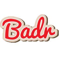 Badr chocolate logo