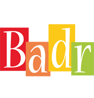 Badr colors logo