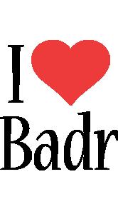 Badr i-love logo