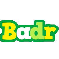 Badr soccer logo
