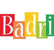 Badri colors logo