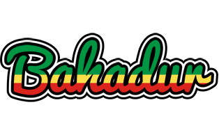 Bahadur african logo