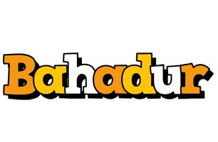 Bahadur cartoon logo