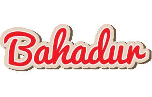 Bahadur chocolate logo