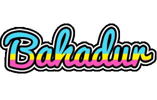 Bahadur circus logo