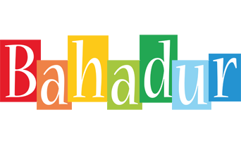 Bahadur colors logo