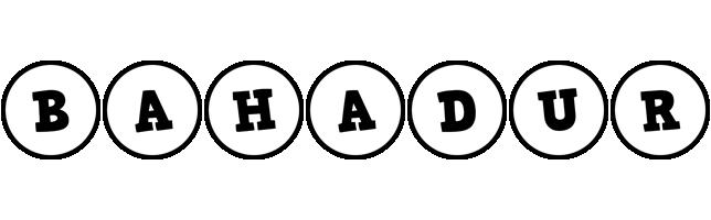 Bahadur handy logo