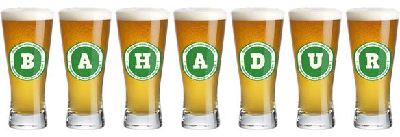 Bahadur lager logo