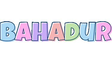 Bahadur pastel logo