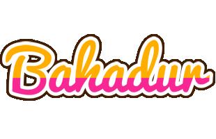 Bahadur smoothie logo