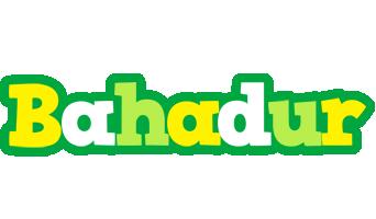 Bahadur soccer logo