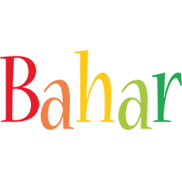 Bahar birthday logo