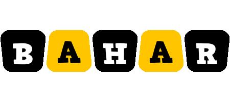 Bahar boots logo