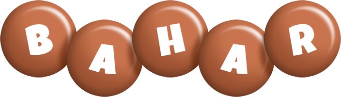 Bahar candy-brown logo