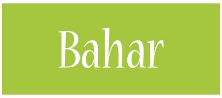 Bahar family logo