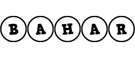 Bahar handy logo