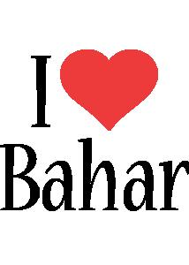 Bahar i-love logo