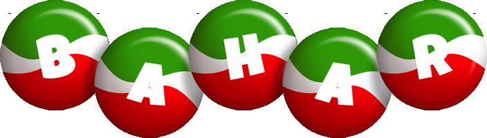 Bahar italy logo