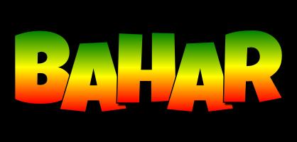 Bahar mango logo
